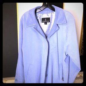London fog coat 1 blue 1 gray L